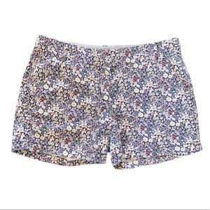 J. Crew Liberty June Meadow Daisy Floral Shorts